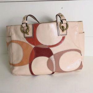 Genuine Coach Patent Leather Vintage Bag